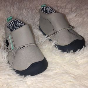 Baby boy size 2.5 gray shoes